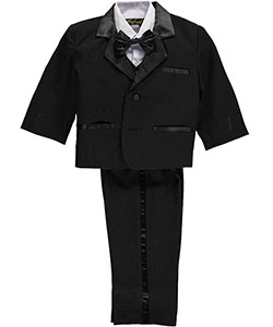 "Angels New York Baby Boys' ""Satin Sophistication"" 5-Piece Tuxedo - CookiesKids.com"