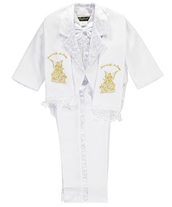 "Angels New York Baby Boys' ""I Remember My Baptism"" 6-Piece Christening Tuxedo - CookiesKids.com"