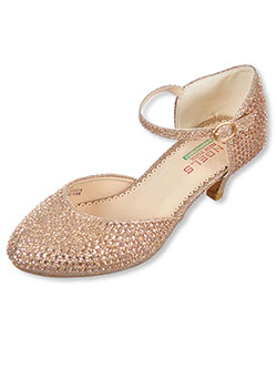 "Angels Girls' ""Gems & Glitter"" Pumps (Youth Sizes 13 – 5) - CookiesKids.com"