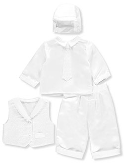 Precious Angels Baby Boys' 4-Piece Christening Tuxedo - CookiesKids.com