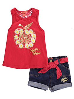 "Apple Bottoms Baby Girls' ""Magic Apple"" 2-Piece Outfit - CookiesKids.com"