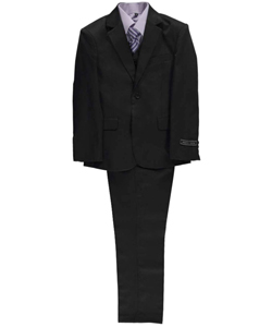 "Andrew Fezza Big Boys' ""Phil"" 5-Piece Suit (Sizes 8 – 20) - CookiesKids.com"