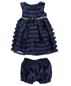"Princess Faith Baby Girls' ""Petit Four"" Dress with Diaper Cover - CookiesKids.com"