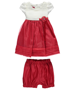 "Princess Faith Baby Girls' ""Layer Cake"" Dress with Diaper Cover - CookiesKids.com"