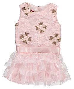 "Princess Faith Baby Girls' ""Sequin Sateen"" Dress - CookiesKids.com"