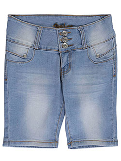 "Bamboo Big Girls' ""Folded Point"" Shorts (Sizes 7 – 16) - CookiesKids.com"