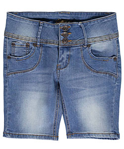 "Bamboo Big Girls' ""Multi-Stitched"" Shorts (Sizes 7 – 16) - CookiesKids.com"
