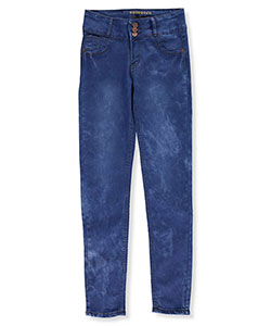 "Bamboo Big Girls' ""Sandia"" Stretch Jeans (Sizes 7 – 16) - CookiesKids.com"