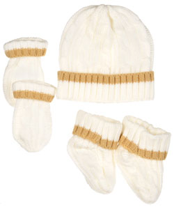 "Luvable Friends ""Gabelhorn"" 3-Piece Gift Set - CookiesKids.com"