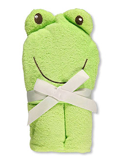 "Luvable Friends ""Froggy Friend"" Hooded Towel - CookiesKids.com"