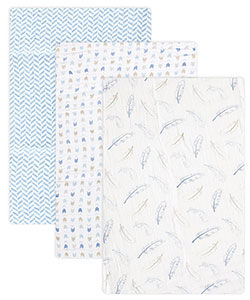 "Hudson Baby ""Winter Bird"" 3-Pack Swaddle Blanket - CookiesKids.com"