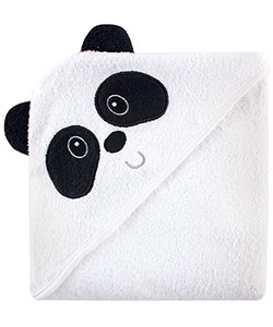 "Luvable Friends ""Panda"" Hooded Towel - CookiesKids.com"
