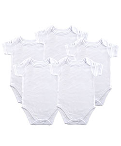 Luvable Friends Baby Unisex 5-Pack Bodysuits - CookiesKids.com