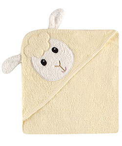 "Luvable Friends ""Sheep"" Hooded Towel - CookiesKids.com"