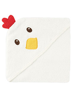 "Luvable Friends ""Chicken"" Hooded Towel - CookiesKids.com"