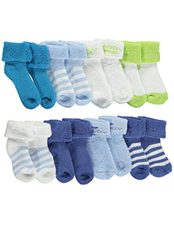 "Luvable Friends Baby Boys' ""Daddy Love"" 8-Pack Socks - CookiesKids.com"