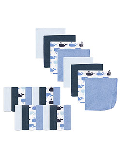 "Luvable Friends ""Big Blue"" 24-Pack Terry Washcloths - CookiesKids.com"