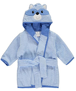 "Luvable Friends Baby Boys' ""Raccoon"" Bathrobe - CookiesKids.com"