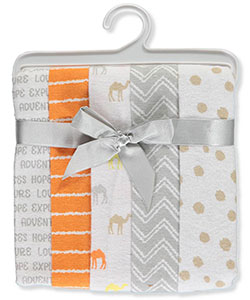 "Luvable Friends ""Cute Camel"" 5-Pack Receiving Blankets - CookiesKids.com"