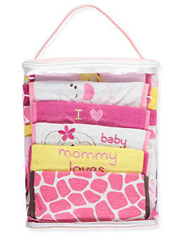 "Luvable Friends Baby Girls' ""Little Monkey"" 24-Piece Baby Gift Cube - CookiesKids.com"