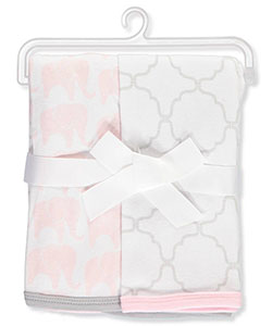 Hudson Baby 2-Pack Swaddle Blankets - CookiesKids.com
