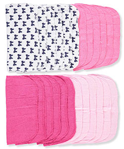Luvable Friends 24-Pack Washcloths - CookiesKids.com