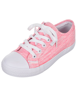 "Baby Phat Girls' ""Stan Heathered"" Low-Top Sneakers (Youth Sizes 13 – 4) - CookiesKids.com"