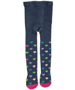 "Flapdoodles Baby Girls' ""Rainbow Hearts"" Tights - CookiesKids.com"