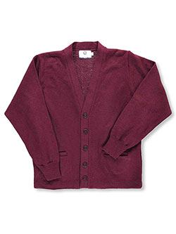 Blueberry Knitting L/S Unisex Cardigan Sweater (Adult Sizes S – XXL) - CookiesKids.com