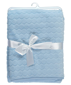 "Baby Dove ""Embossed Velour"" Blanket - CookiesKids.com"