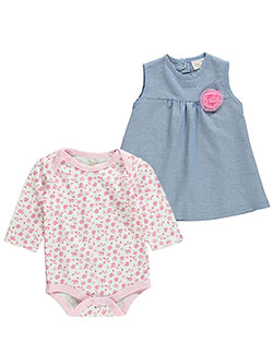 "Rene Rofe Baby Girls' ""Candy Flowers"" 2-Piece Outfit - CookiesKids.com"