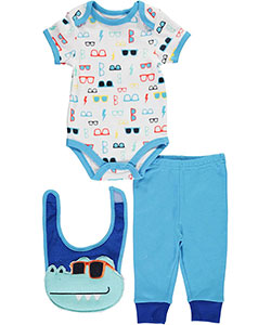 "Bon Bebe Baby Boys' ""Dino Cool"" 3-Piece Layette Set - CookiesKids.com"