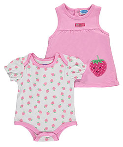 "Bon Bebe Baby Girls' ""I'm Berry Cute"" 2-Piece Outfit - CookiesKids.com"