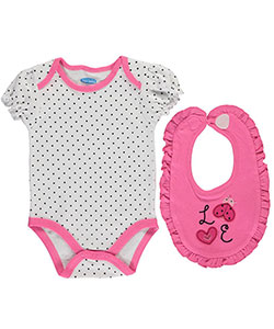 "Bon Bebe Baby Girls' ""Love to Smile"" 2-Piece Outfit - CookiesKids.com"