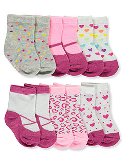 Bon Bebe Baby Girls' 6-Pack Socks - CookiesKids.com