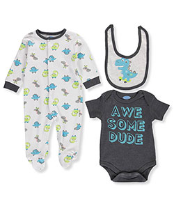 Rene Rofe Baby Boys' 3-Piece Layette Set - CookiesKids.com