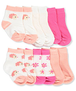 Rene Rofe Baby Girls' 6-Pack Socks - CookiesKids.com
