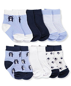 Rene Rofe Baby Boys' 6-Pack Socks - CookiesKids.com