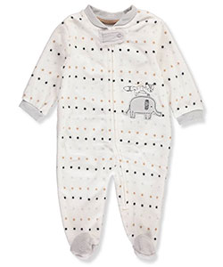 Rene Rofe Baby Boys' Microfleece Footed Coverall - CookiesKids.com