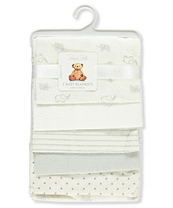 Rene Rofe 5-Pack Receiving Blankets - CookiesKids.com