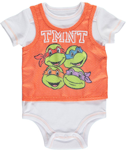 "Teenage Mutant Ninja Turtles Baby Boys' ""TMNT Tank"" Bodysuit - CookiesKids.com"