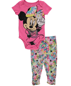 "Minnie Mouse Baby Girls' ""Accessory Love"" 2-Piece Outfit - CookiesKids.com"