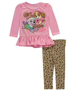 "Paw Patrol Baby Girls' ""Girl Pups Rescue"" 2-Piece Outfit - CookiesKids.com"