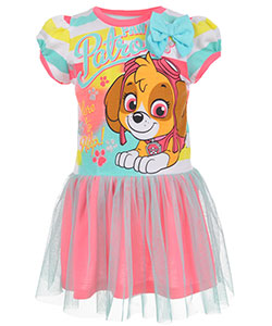 "Paw Patrol Little Girls' Toddler ""Here to Help!"" Dress (Sizes 2T – 4T) - CookiesKids.com"