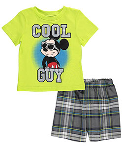 "Mickey Mouse Baby Boys' ""Shaded Chill"" 2-Piece Outfit - CookiesKids.com"