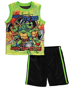 "TMNT Little Boys' Toddler ""Our City"" 2-Piece Outfit (Sizes 2T – 4T) - CookiesKids.com"