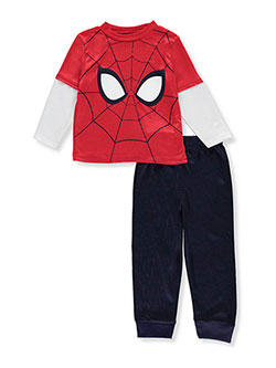 Spider-Man Little Boys' Toddler 2-Piece Outfit (Sizes 2T – 4T) - CookiesKids.com