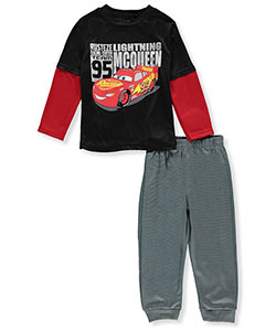 Disney Cars Little Boys' Toddler 2-Piece Outfit (Sizes 2T – 4T) - CookiesKids.com