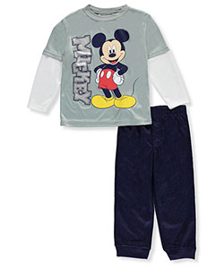 Mickey and the Roadster Racers Little Boys' Toddler 2-Piece Outfit (Sizes 2T – 4T) - CookiesKids.com
