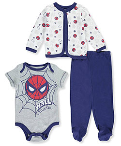 Spider-Man Baby Boys' 3-Piece Outfit - CookiesKids.com